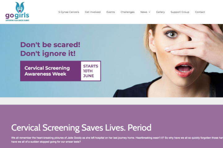 Pixie and Sera Cervical Screening Awareness